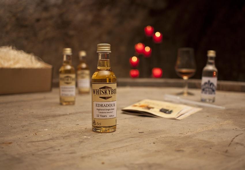 Whiskybox - Whisky Tasting zu Hause