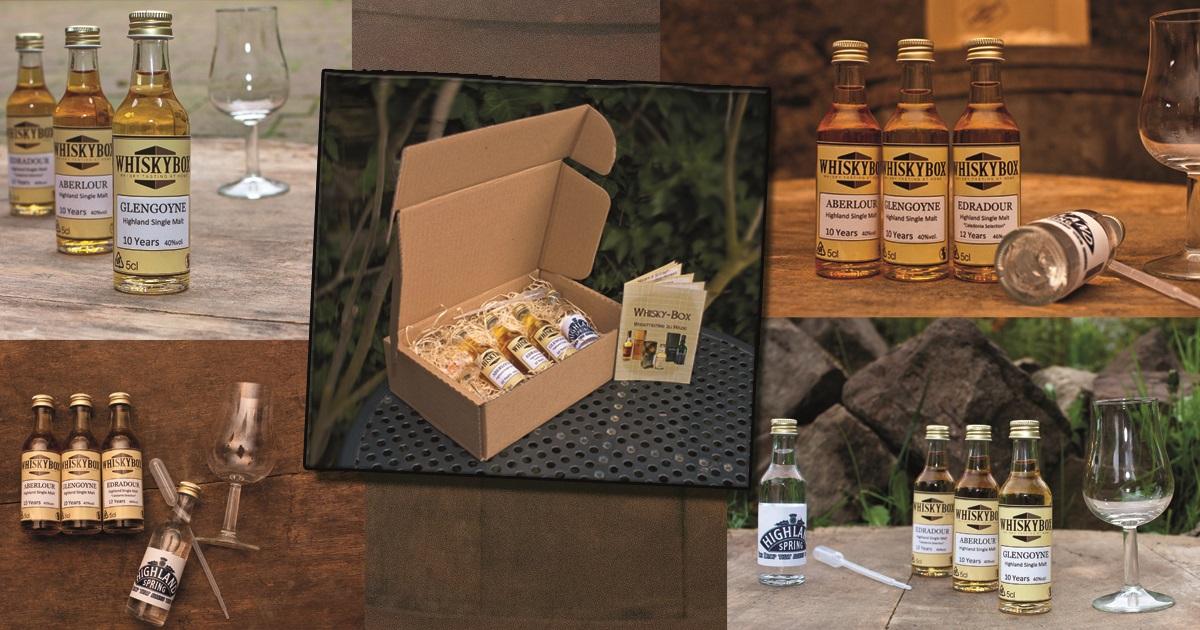Kollage der Whiskybox