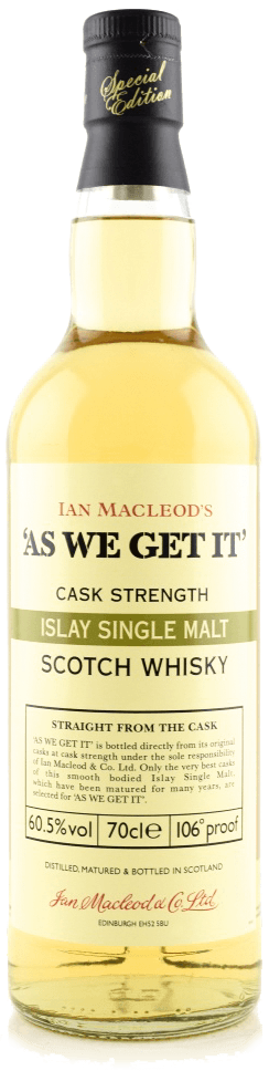 Whisky: Ian Macleod's As We Get It! Islay - Batch 2018 - 60.5%