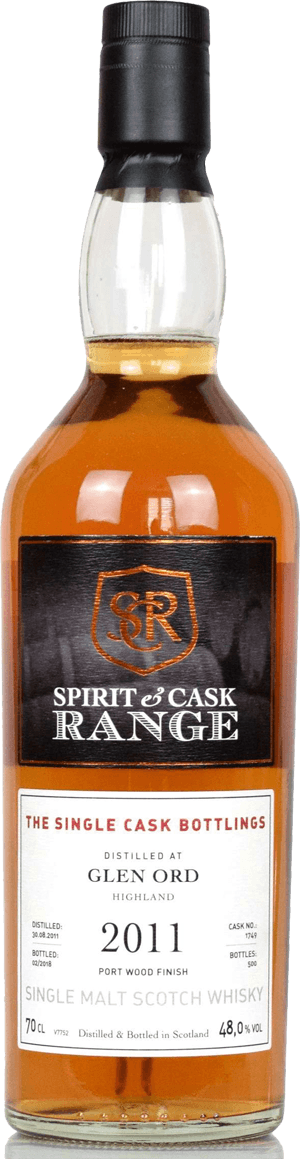 Whisky: Glen Ord 2011-2018 Port Finish Spirit & Cask Range