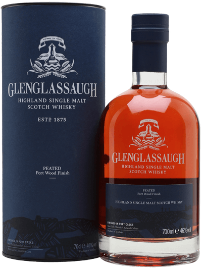 Whisky: Glenglassaugh Peated Port Wood Finish