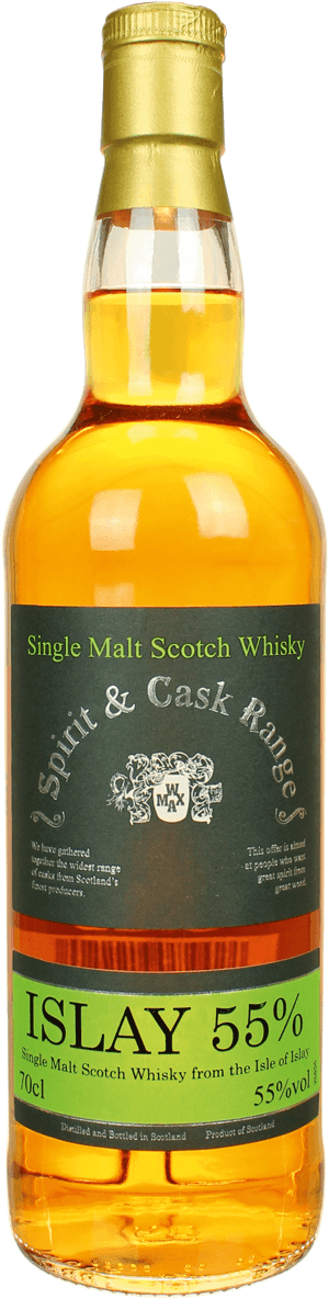 Whisky: Islay Single Malt Spirit & Cask Range 55%