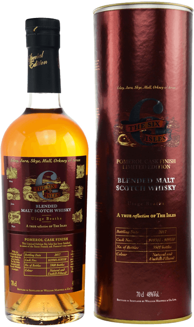 Whisky: Six Isles Pomerol Finish