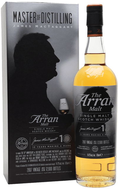 Whisky: Arran - James MacTaggart ANNIVERSARY