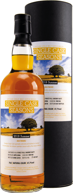 Whisky: Aultmore Seasons Summer 2018