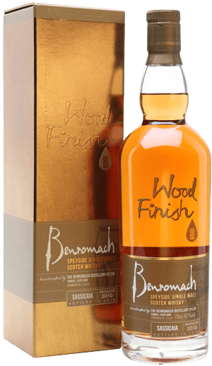 Whisky: Benromach Sassicaia Finish 2010 2018