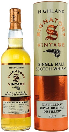 Whisky: Royal Brackla 10 Signatory