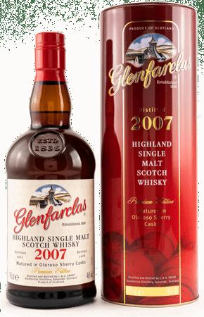 Whisky: Glenfarclas 2007 Oloroso Premium Edition