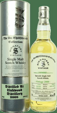 Whisky: Linkwood 10 Jahre Signatory - Fässer 803839 und 803840