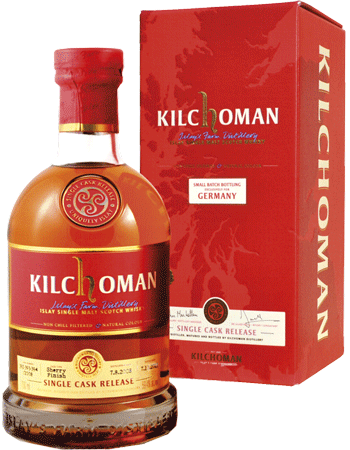 "Whisky: Kilchoman ""Germany Small Batch"" (25% Port Casks)"
