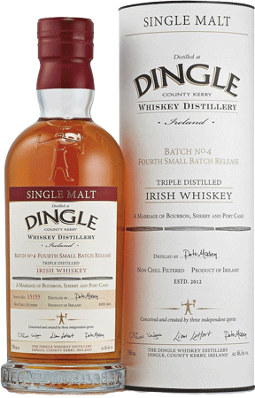 Whisky: Dingle Single Malt Irish Whiskey - Batch #4