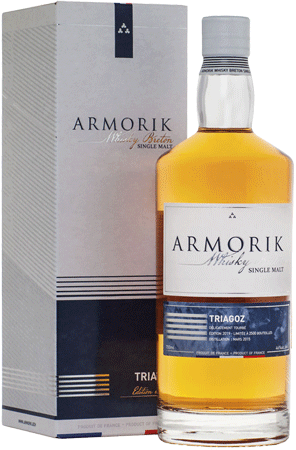 Whisky: Armorik Triagoz Limited Edition 2015/2019