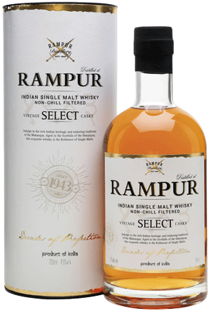 Whisky: Rampur Vintage Select Casks - Indian Himalaya Single Malt