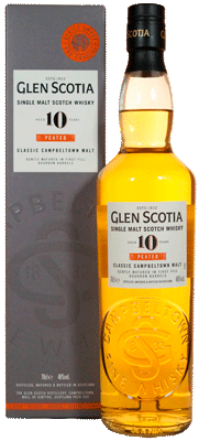 Whisky: Glen Scotia 10 Jahre, peated