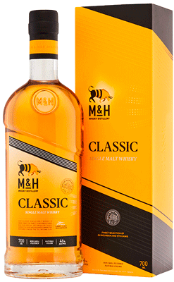 M&H Classic Israel Single Malt Whisky
